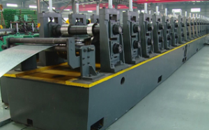 Garage side beam cold bending production equipment manufacturers