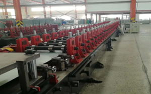 Cultivating trough cold forming production equipment